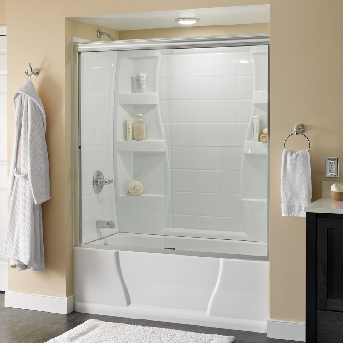& Delta Shower Doors